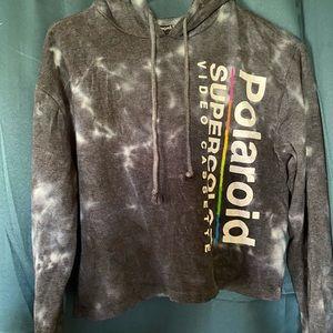 Polaroid crop sweatshirt